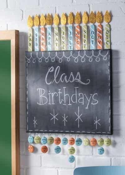 Classroom Birthdays Sign Favecrafts Com