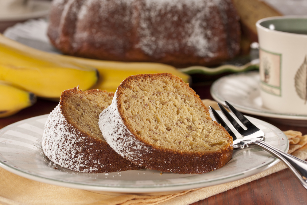 How To Make A Banana Pound Cake With Yellow Cake