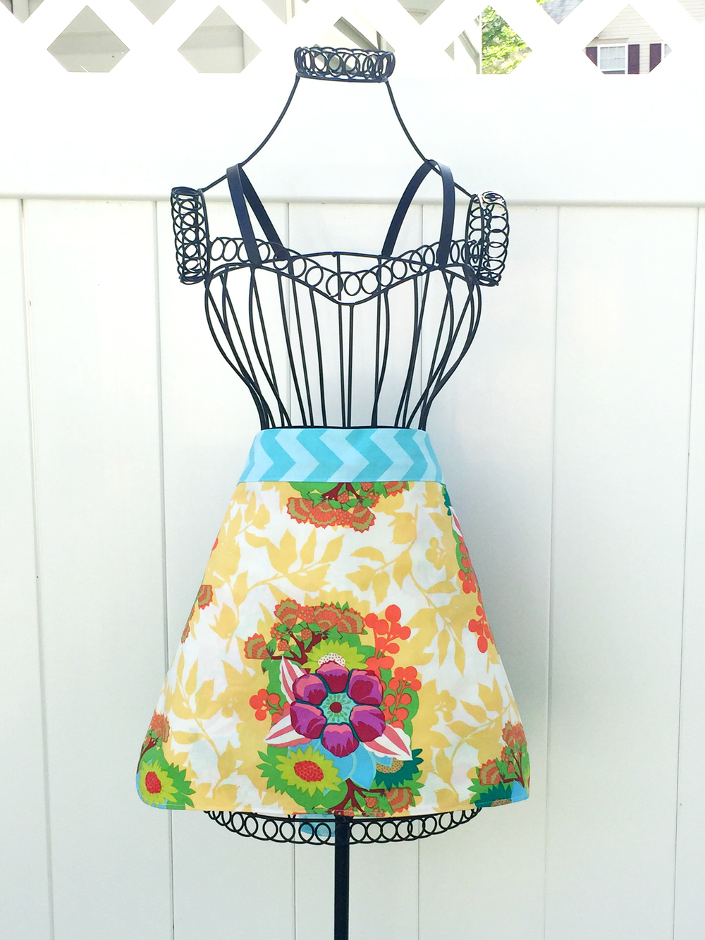 One Hour Free Apron Patterns Allfreesewing Com