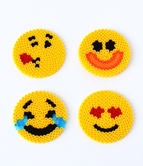 Fun Emoji Perler Bead Patterns Allfreekidscrafts Com
