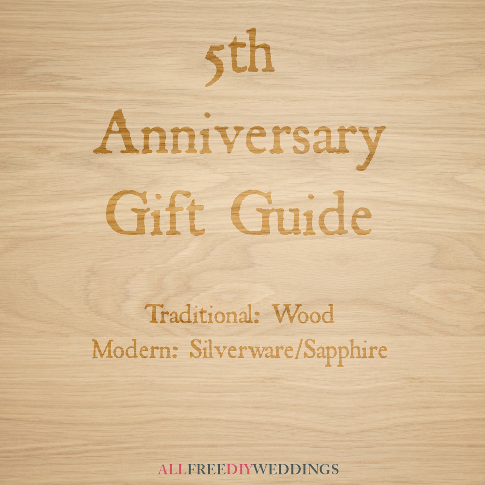 5th Year Wedding Anniversary Gift: 5th Anniversary: Modern And Traditional Anniversary Gifts