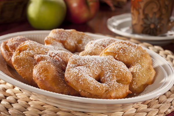 Apple Fritters | MrFood.com