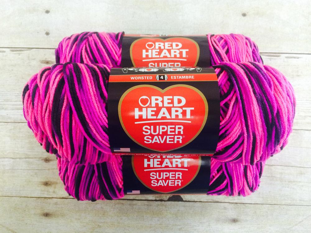 Red Heart Super Saver Yarn AllFreeCrochetAfghanPatterns.com