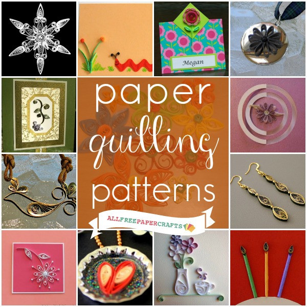 Quilling Papercraft Paper Crafts