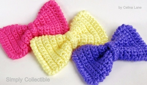 Sassy Crochet Bow Pattern