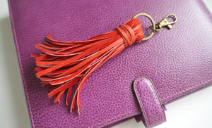 DIY Tassel Leather Charm