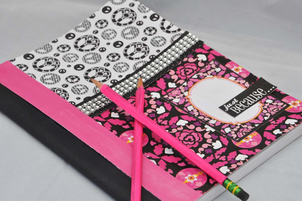 DIY Notebook Design | FaveCrafts.com