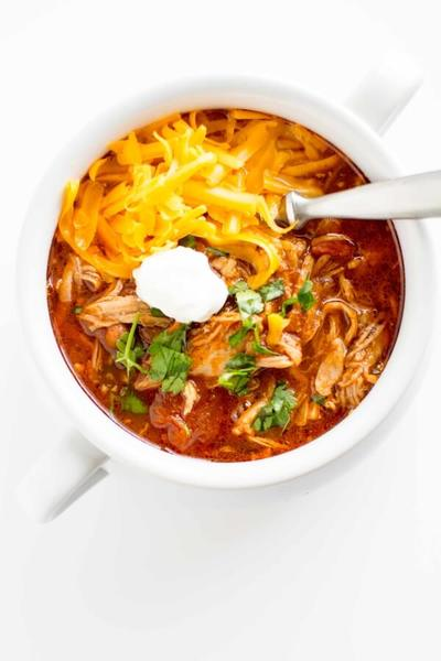 Pulled Pork Slow Cooker Chilli