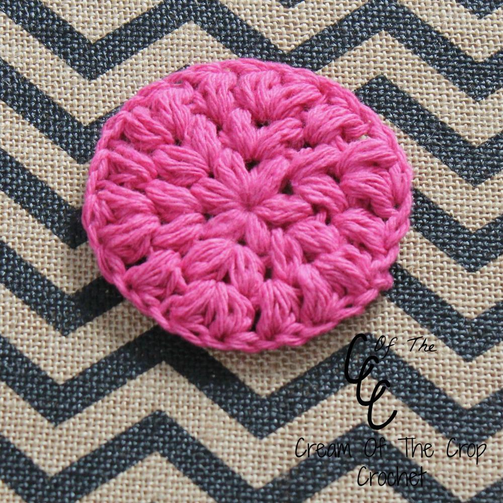 Pink Puff Crochet Face Scrubbie Favecrafts Com