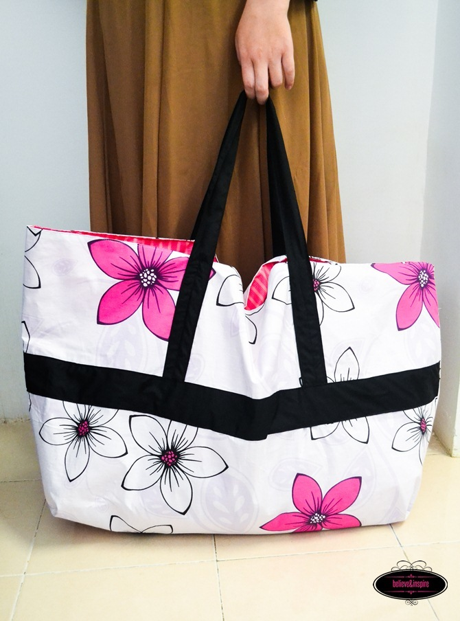 Jumbo DIY Laundry Bag Pattern  311547f52b2f