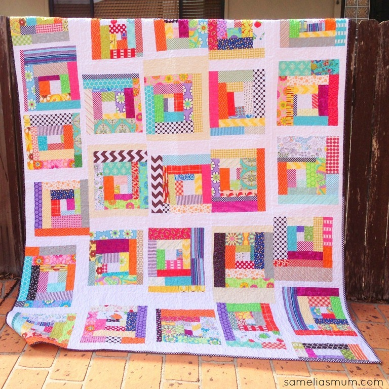 Fabric Scraps Quilt Allfreesewing Com