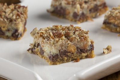 Sinful Seven Layer Cookie Bars