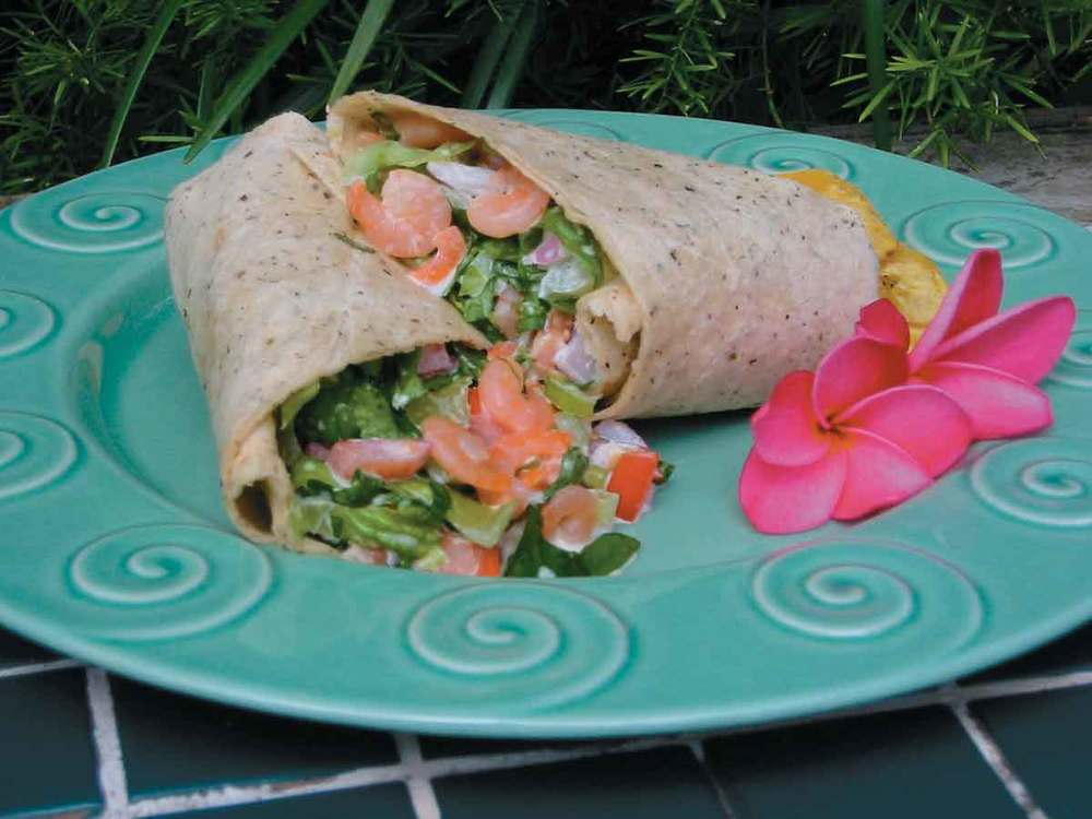 Shrimp Salad Wraps Mrfood Com