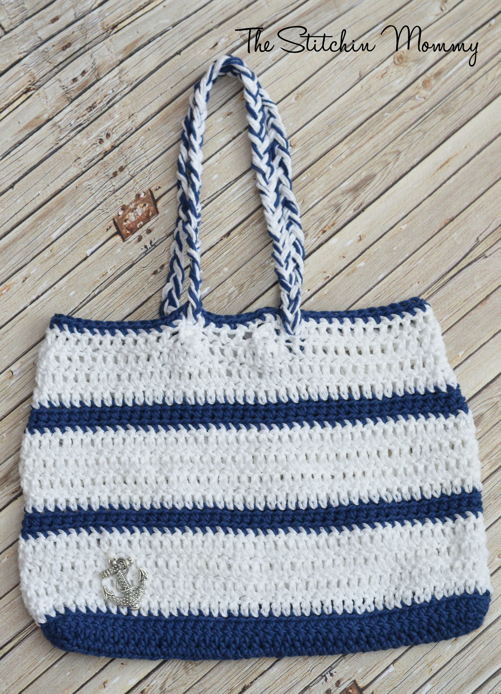 Crochet Nautical Tote Allfreecrochet Com
