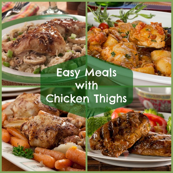 Quick Dinner Ideas With Chicken Thighs: 6 Easy Meals With Chicken Thighs