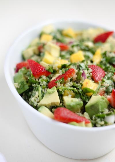 Colorful Summer Chopped Salad | FaveHealthyRecipes.com