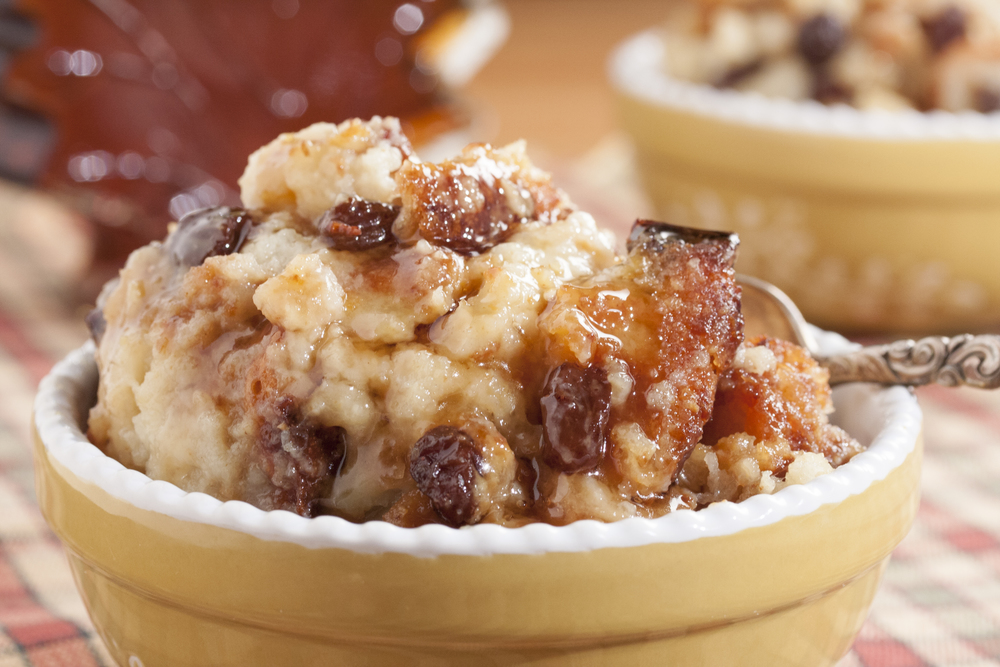 Recipe for homemade bread pudding old fashioned