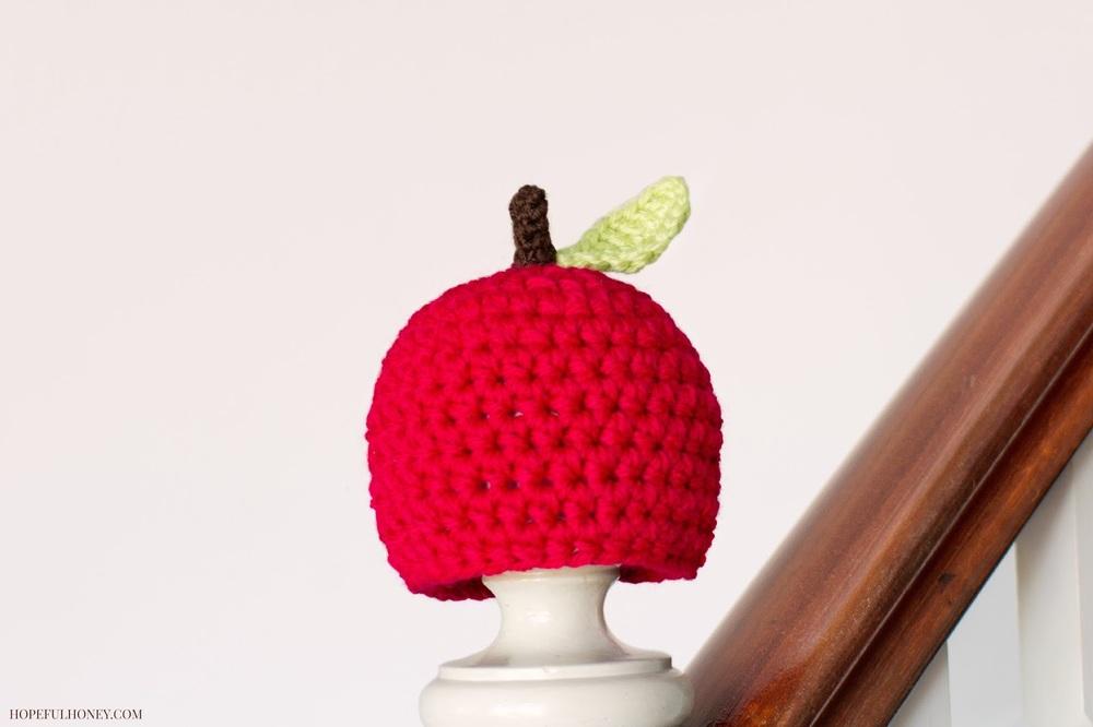 Newborn Fall Apple Crochet Pattern Favecrafts Com