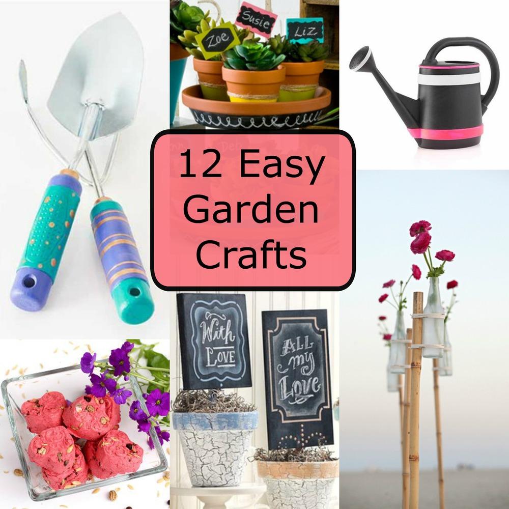 Superb 12 Easy Garden Crafts Favecrafts Com Download Free Architecture Designs Scobabritishbridgeorg