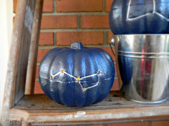 Drilled Constellation Pumpkins