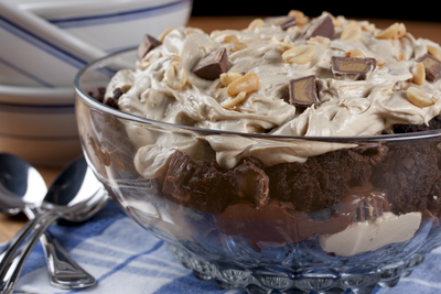 Chocolate Peanut Butter Brownie Bowl
