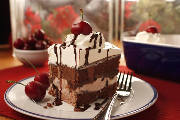 Black forest ice cream cake for Ice cream dessert recipes