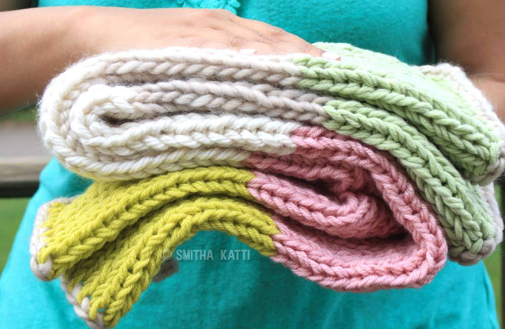 Baby Gift Knitting Projects : Day quick knit baby blanket allfreeknitting