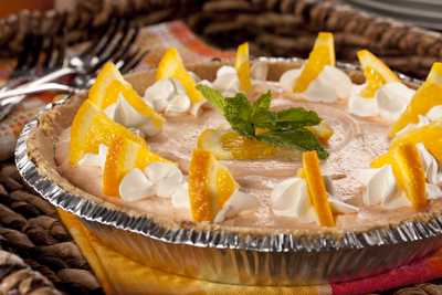 Orange Cream Pie