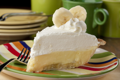 Diner-Style Banana Cream Pie