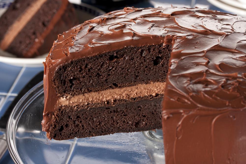 Chocolate Fudge Cake Muffins