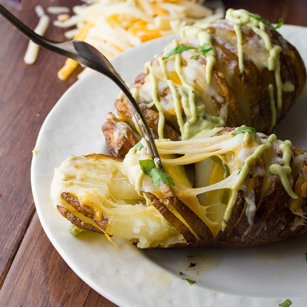 70 Saucy Creamy And Cheesy Italian Christmas Food Recipes: Cheesy Jalapeno Hasselback Potatoes