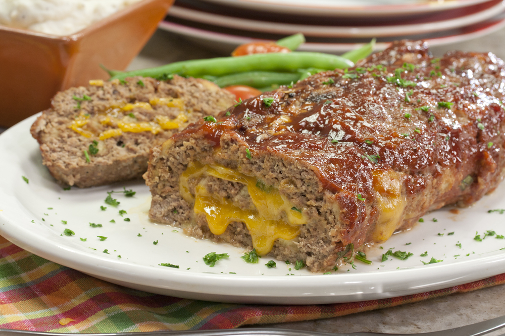 meatloaf with cheese