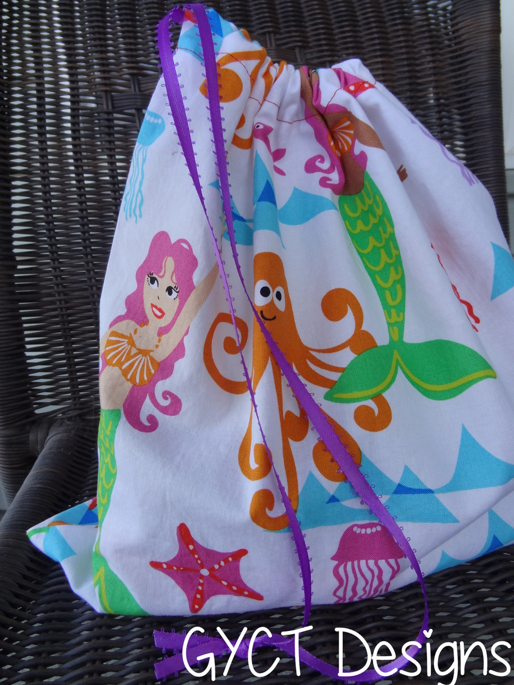 Drawstring Tote Bag Pattern Allfreesewing Com