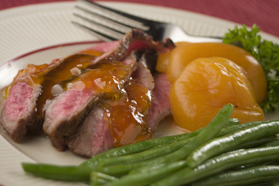 Apricot Glazed Steak