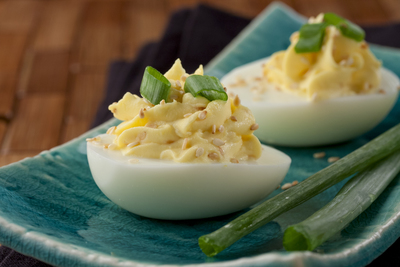 Asian Deviled Eggs
