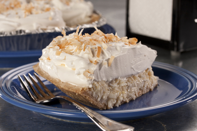 Automat-Style Coconut Cream Pie