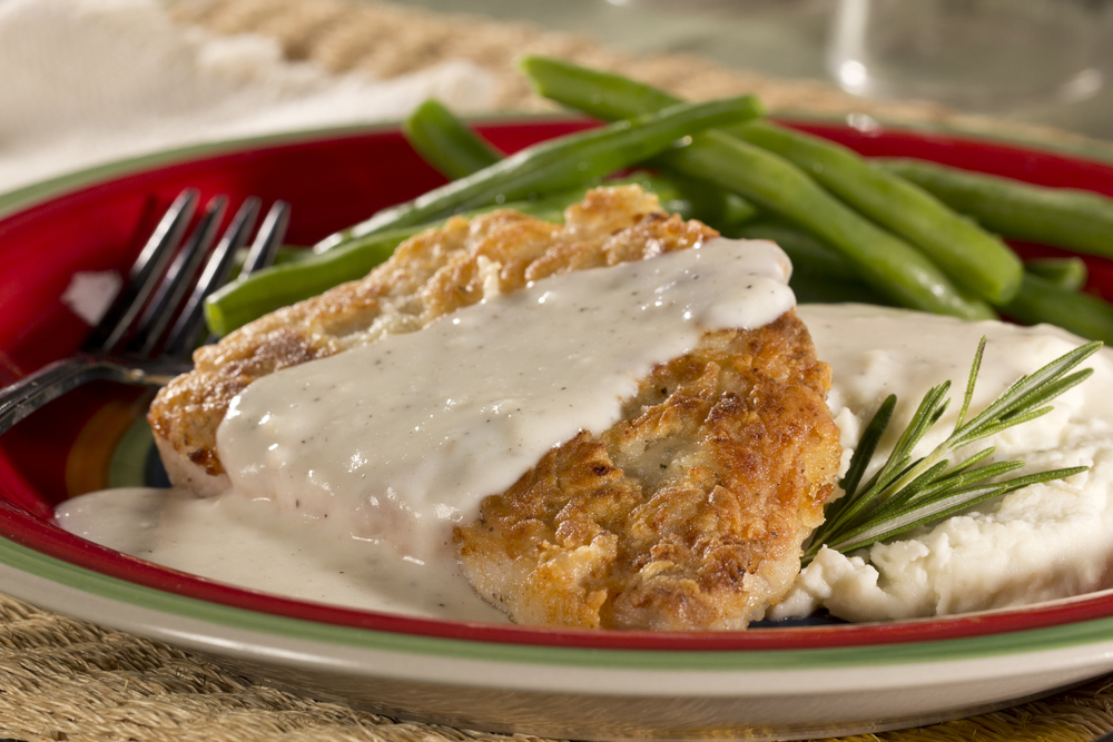 Backwoods pork chops with river gravy mrfood ccuart Gallery