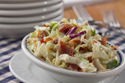 Bacon Ranch Coleslaw