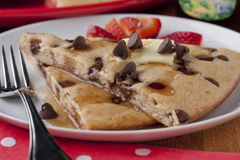 Baked Chocolate Chip Pancakes Mrfood Com