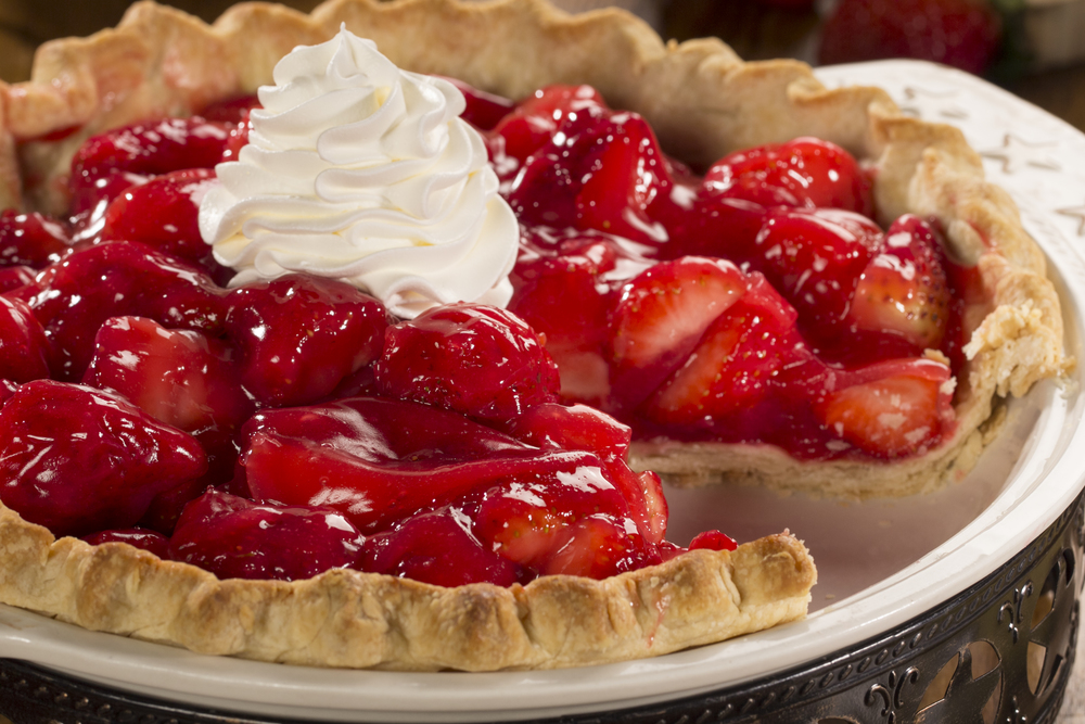 Easy Strawberry Pie Mrfood Com