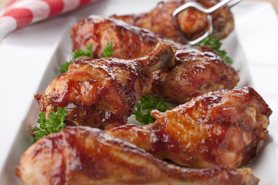 Barbecued Drumsticks