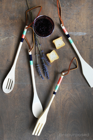 Colorful DIY Kitchen Utensils