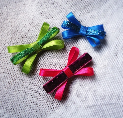 Easy Ribbon Hair Clip