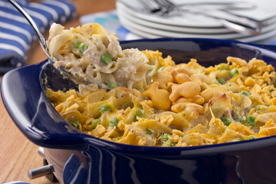 No Ordinary Tuna Casserole