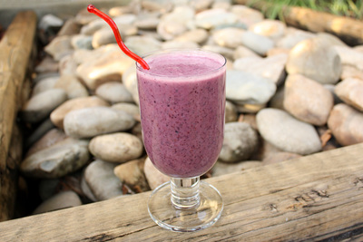 Banana-Blueberry Smoothie