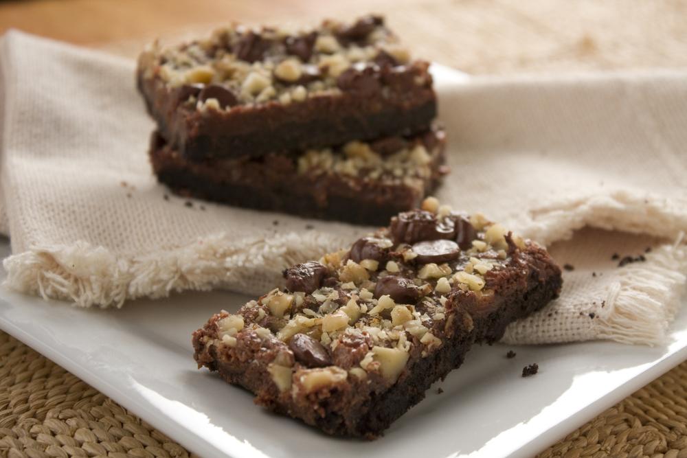 Double Chocolate Cookie Bars Mrfood Com