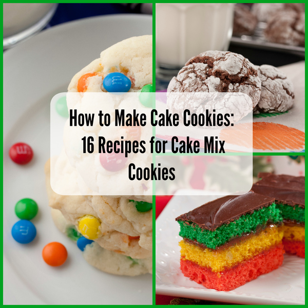 Recipes with white cake mix cookies