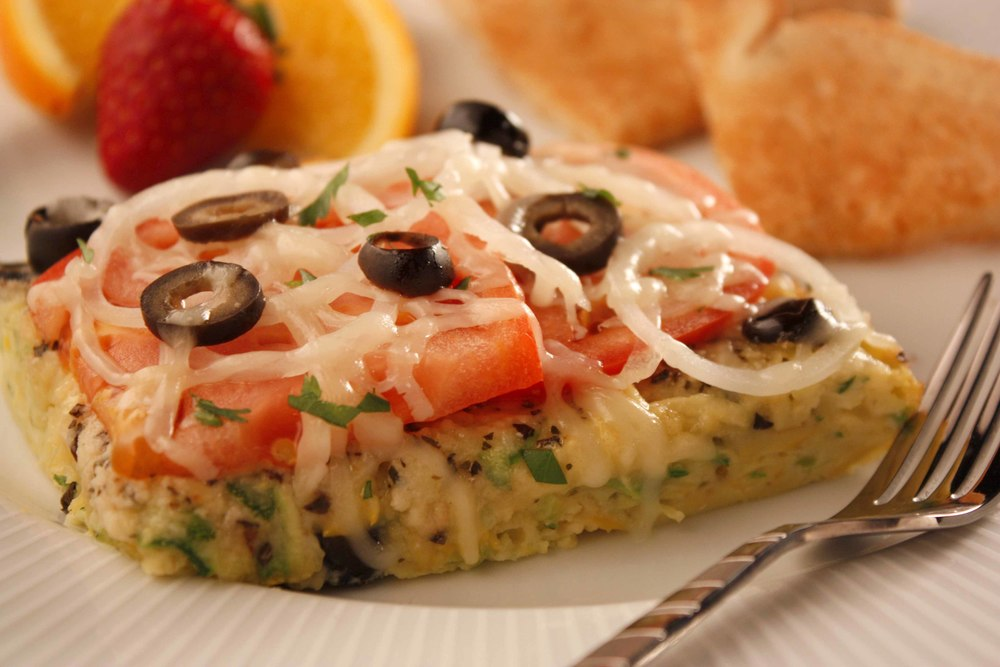 Italian breakfast bake for Prime fish brunch
