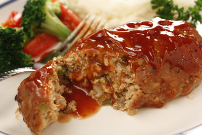 Barbecue Turkey Meat Loaves