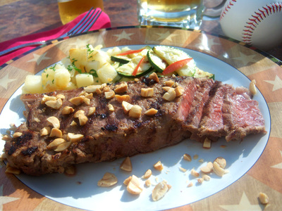 Baseball Park Steak